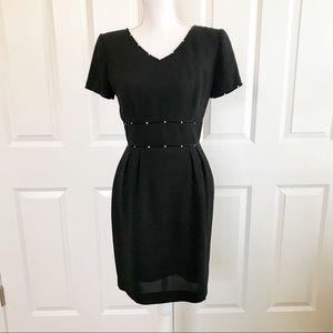 Rhinestone LBD Donna Morgan Size 4 Dress